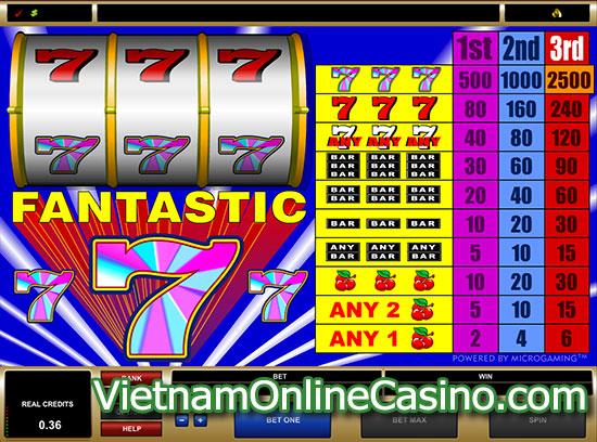 Fantastic 7 Slot