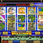Major Millions 5 Reel Progressive Slot