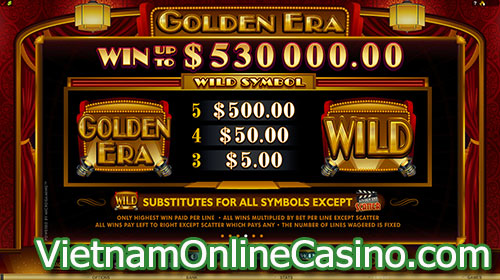 Golden Era Slot Wild Symbol